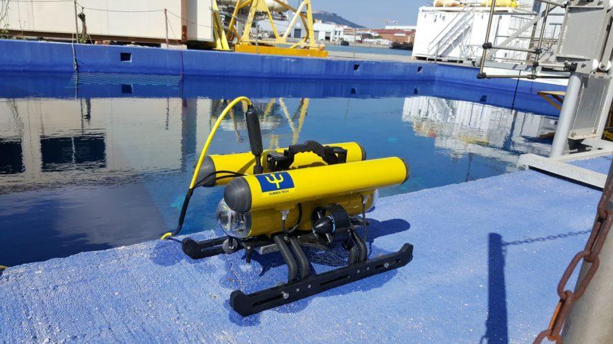 CORAL ROV/outdoor tank