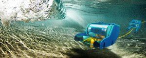 Robot léger en zone de surf